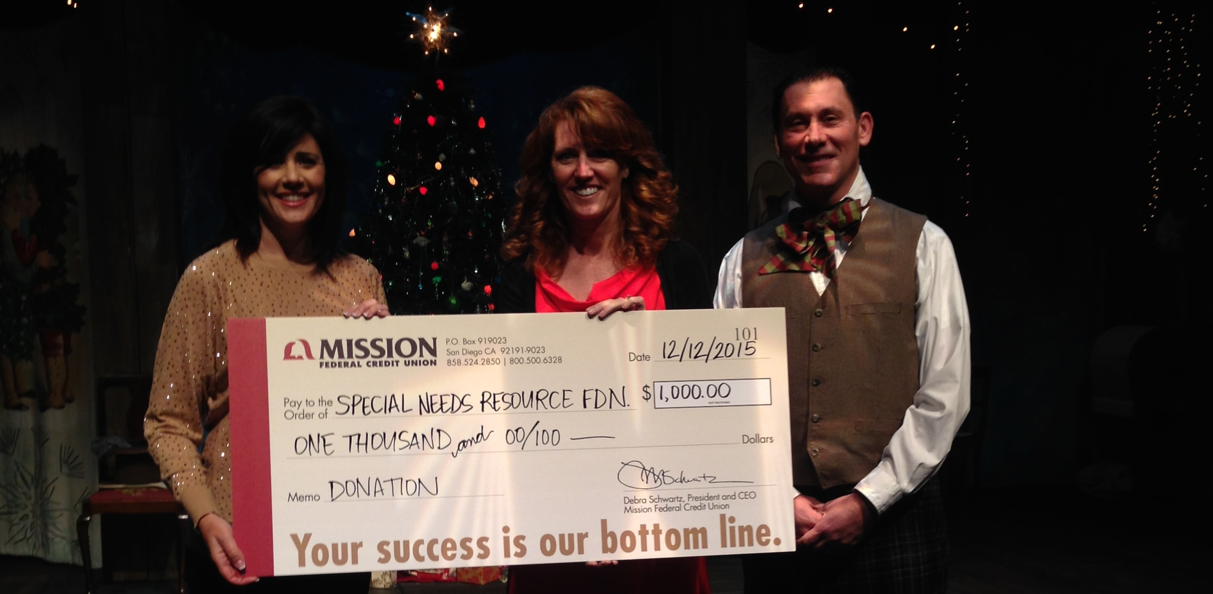 Thank You Mission Federal Credit Union!
