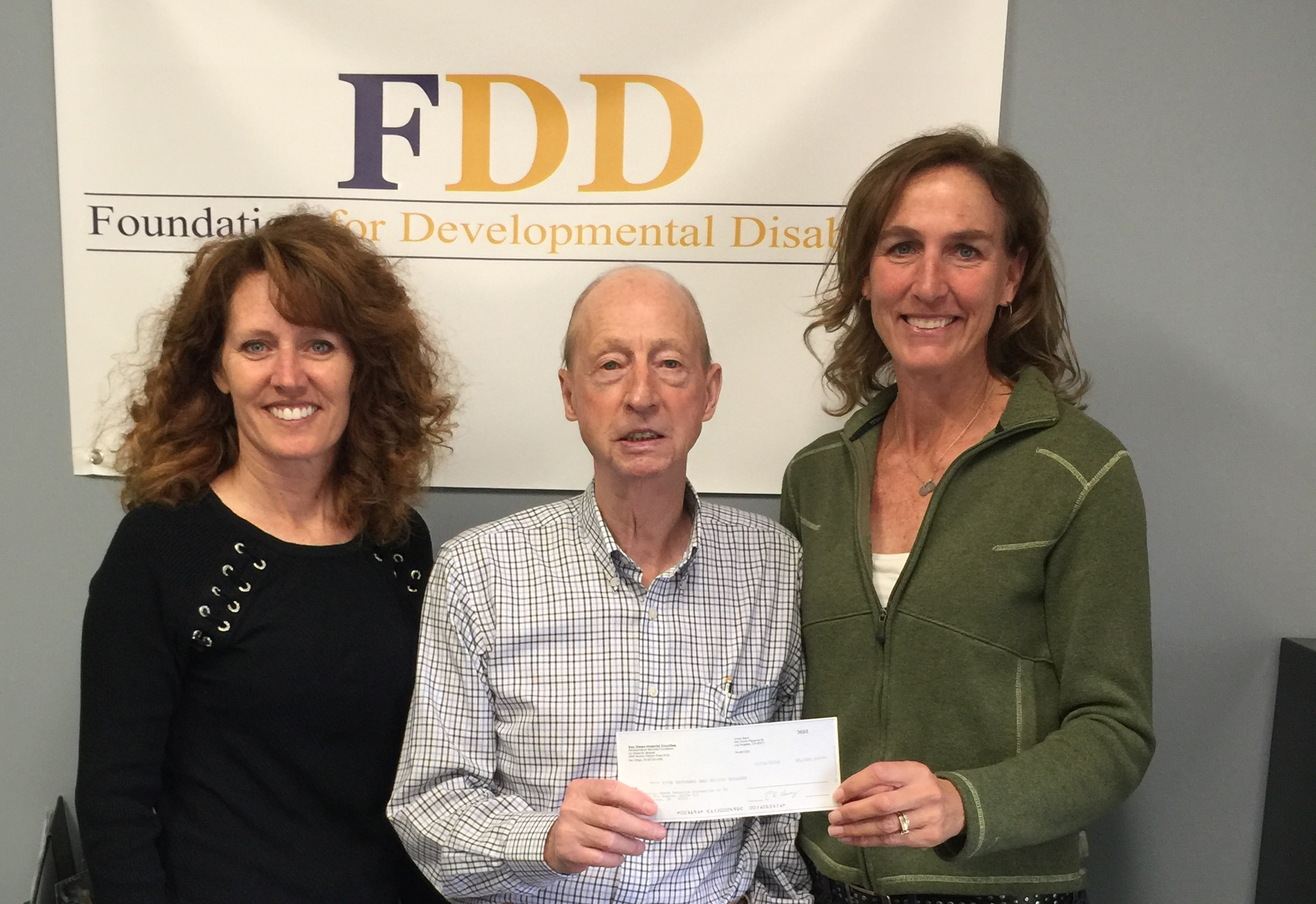 A Fantastic Grant from the Foundation for Developmental Disabilities