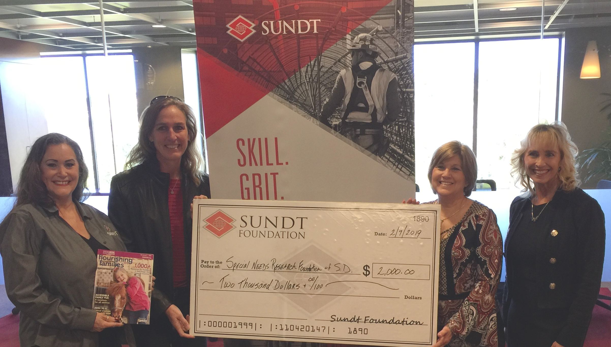 A Big Thanks to Sundt Construction