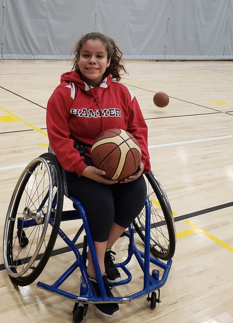 Michelle Bautista: Student athlete proves life on wheels has no boundaries