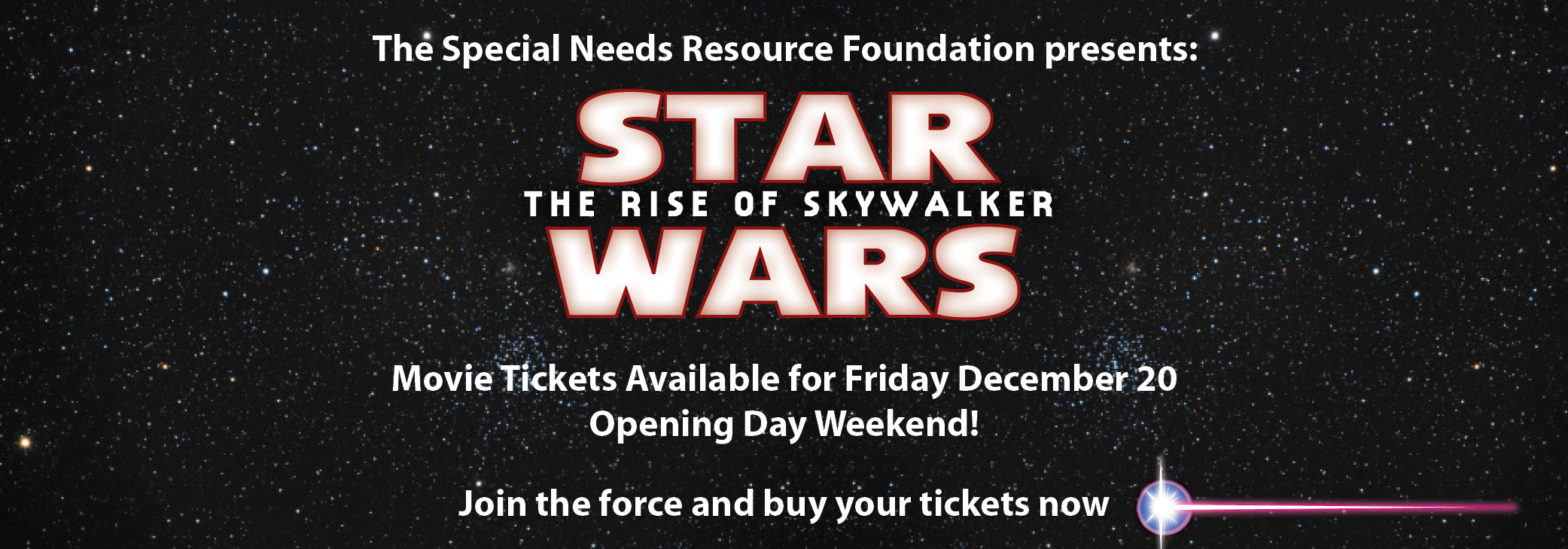 Star Wars: The Rise of Skywalker Movie Fundraiser