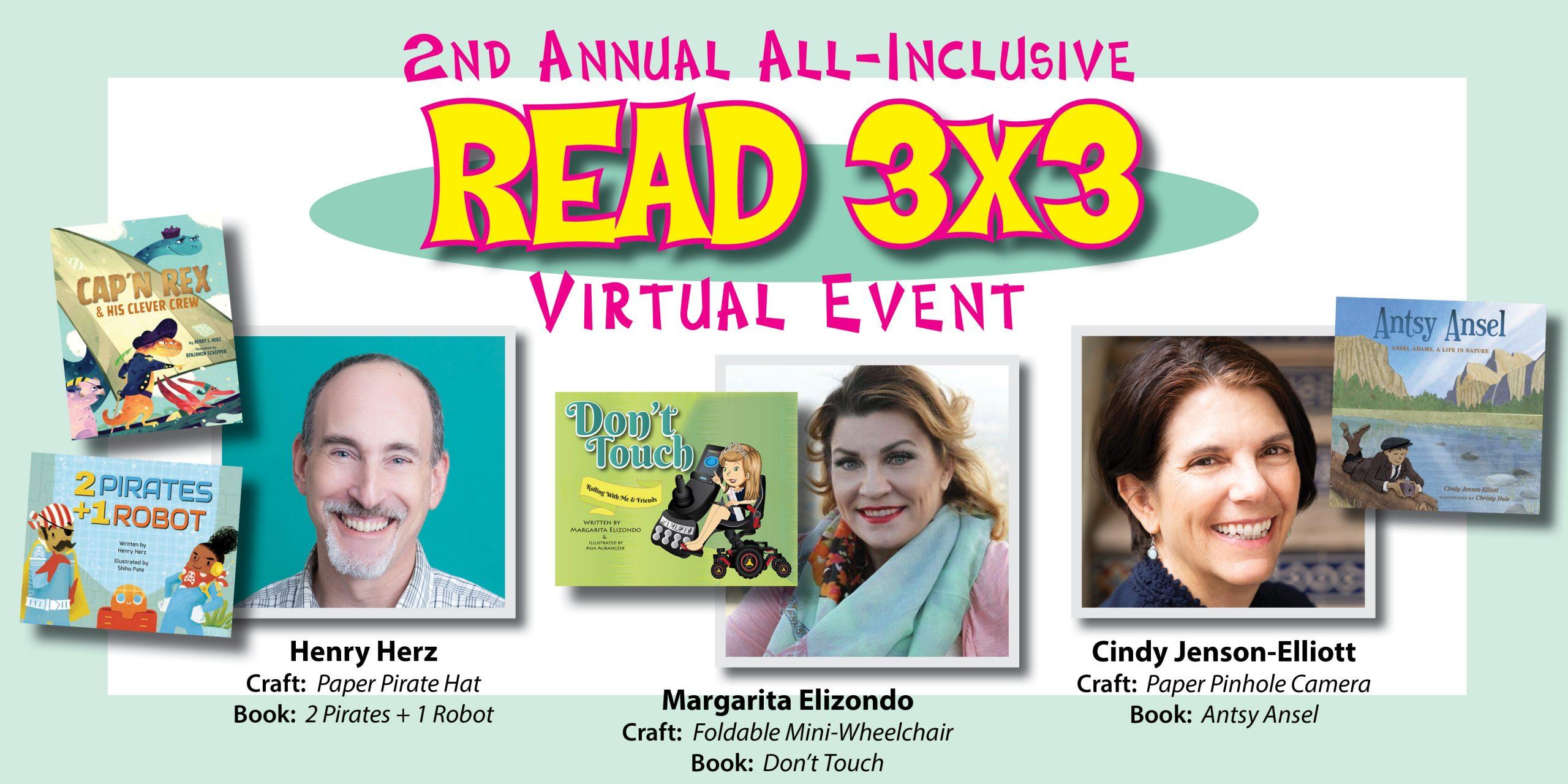 All-Inclusive Virtual READ 3X3 Literacy Event Success