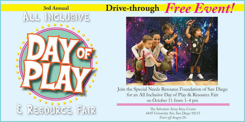 All Inclusive Day of Play & Resource Fair  Interactive Drive-Thru Event!