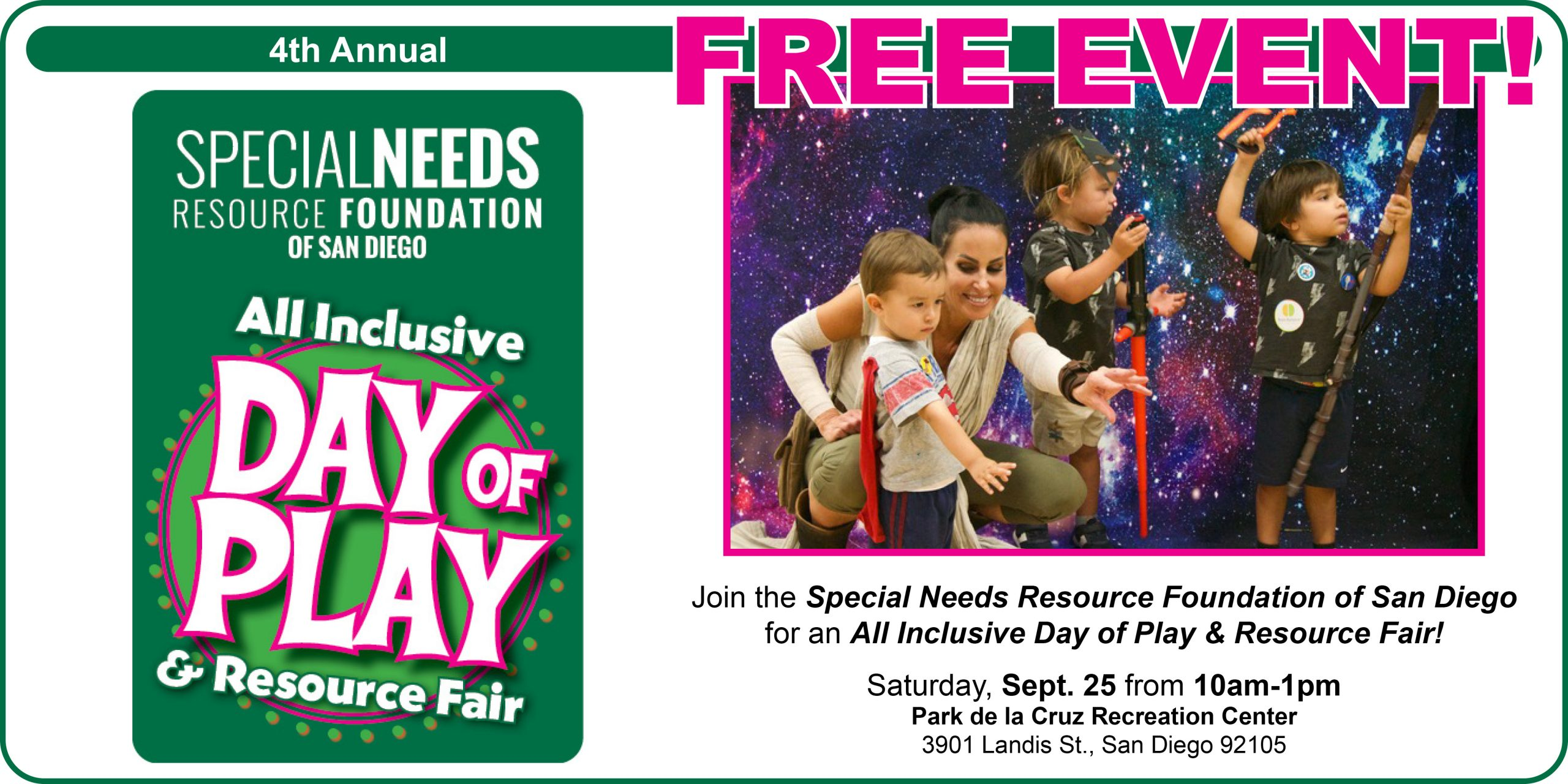 All Inclusive Day of Play & Resource 2021