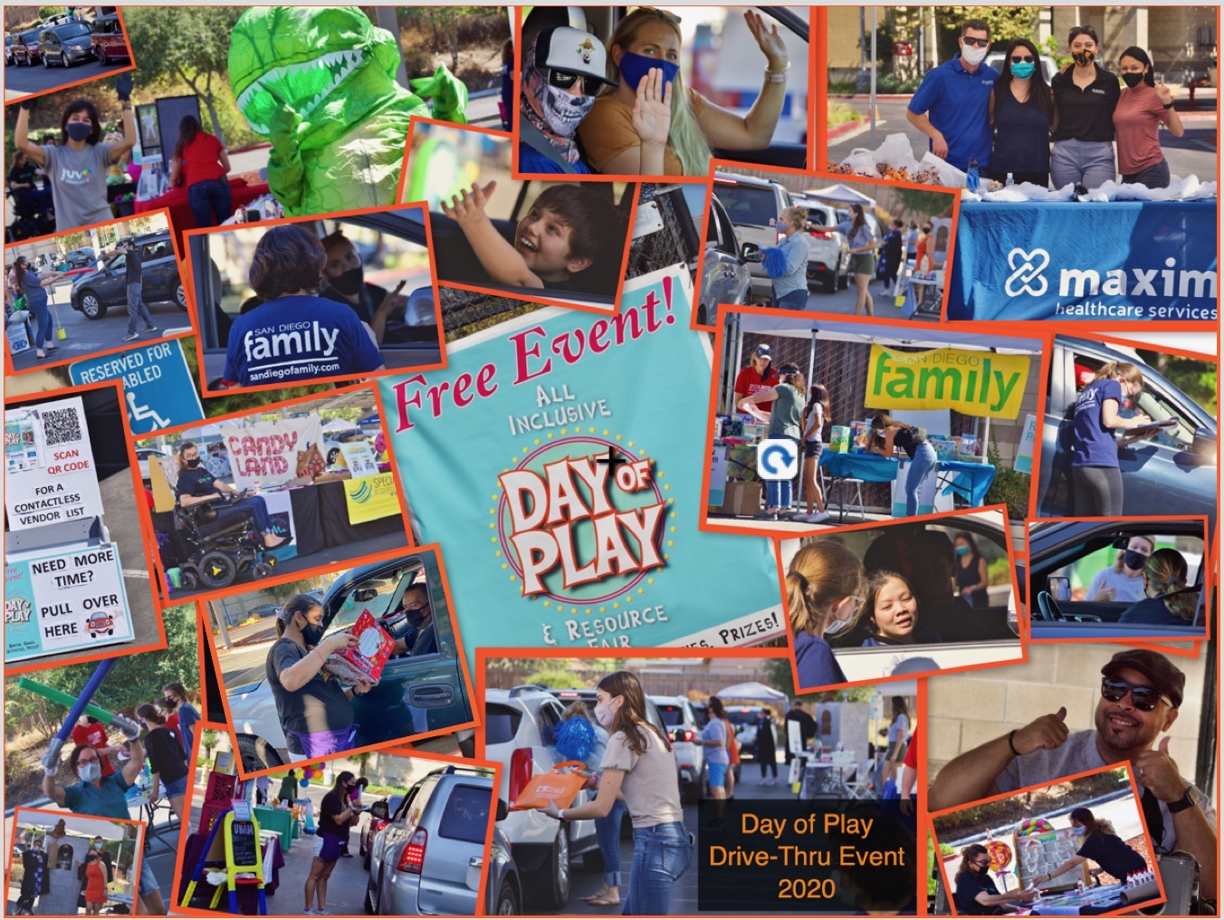 Success at the All Inclusive Day of Play Drive-Thru Event 2020
