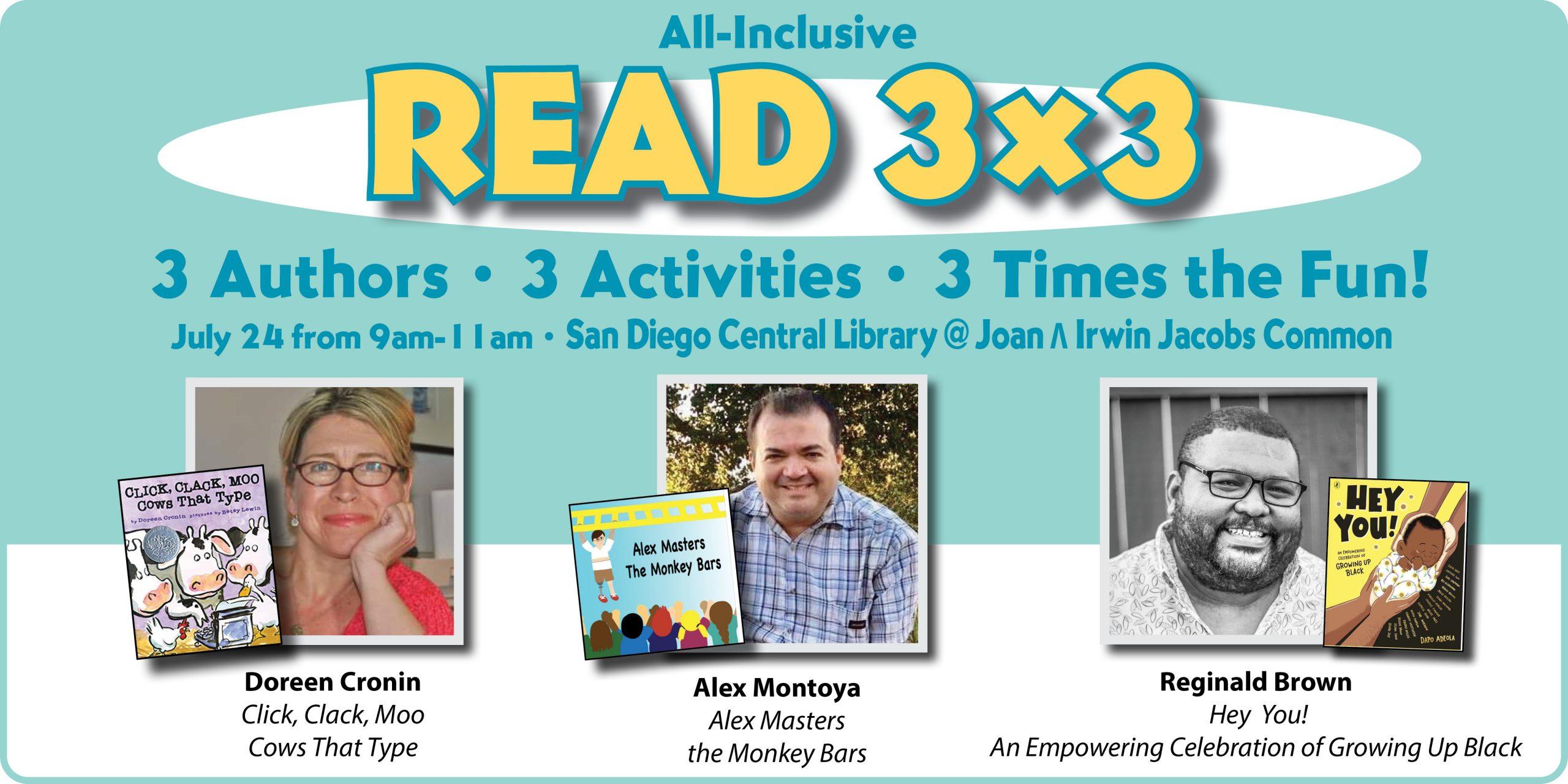 All-Inclusive READ 3X3 Literacy Event